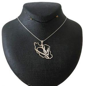 گردنبند نقره ایران مدل Givi591
