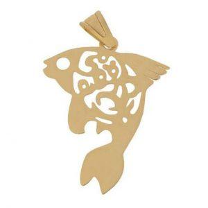 مدال نقره ماهی مدل Givi1818