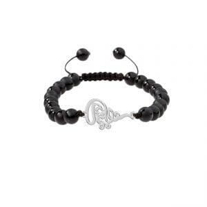 دستبند نقره طرح مهستی مدل Givi4570