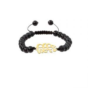 دستبند نقره طرح مهستی مدل Givi4563