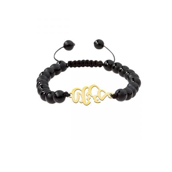 دستبند نقره طرح هستی مدل Givi4715