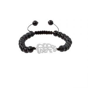 دستبند نقره طرح مهستی مدل Givi4571