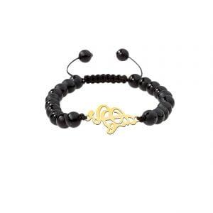 دستبند نقره طرح هستی مدل Givi4716