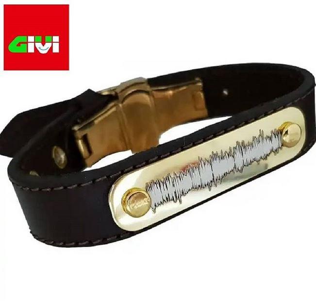 دستبند چرم گویا34