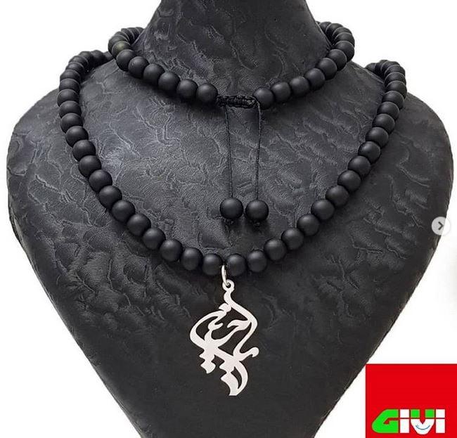 گردنبند سنگ اسم یاحسین77
