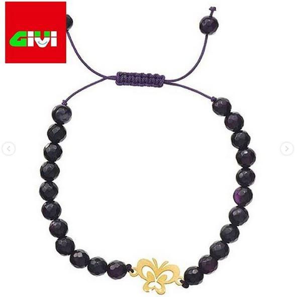 دستبند سنگ طرح پروانه102