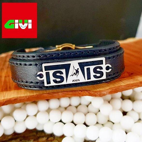 دستبند چرم و پلاک نقره19