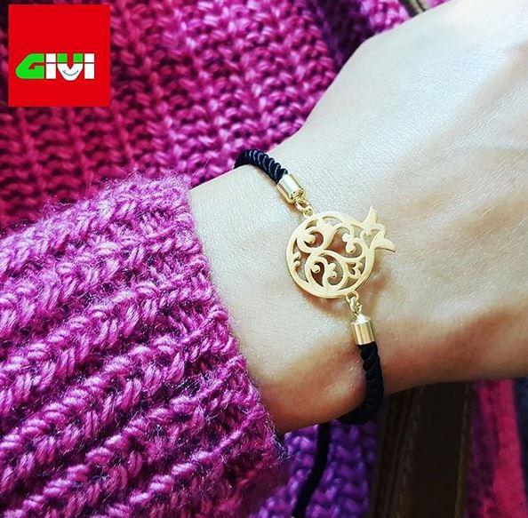 دستبند طرح انار35