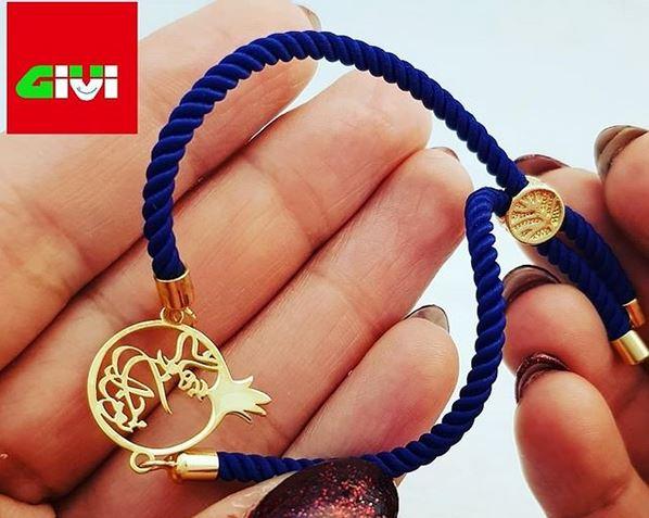 دستبند طرح انار43