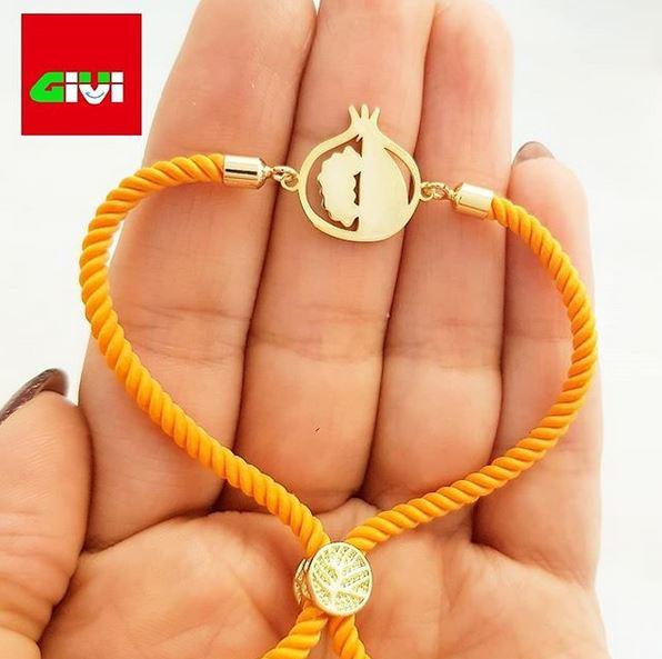دستبند طرح انار55