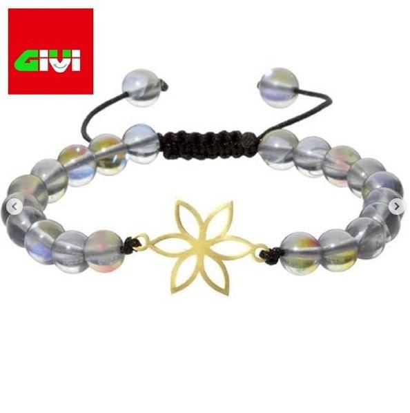دستبند سنگ طرح گل79