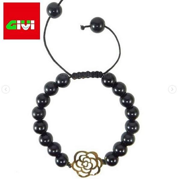 دستبند سنگ طرح گل93