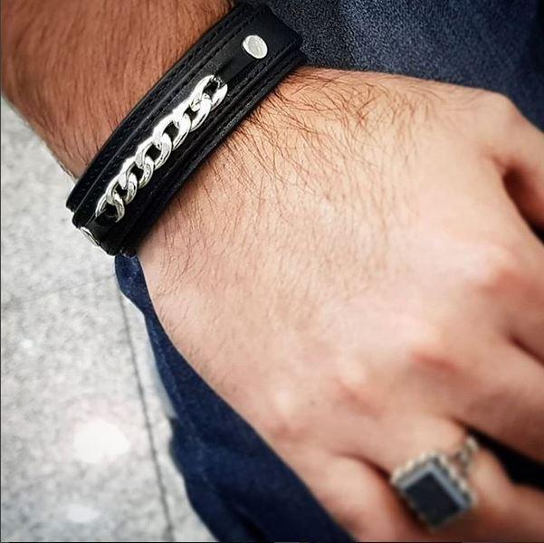 دستبند چرم کارتیه16